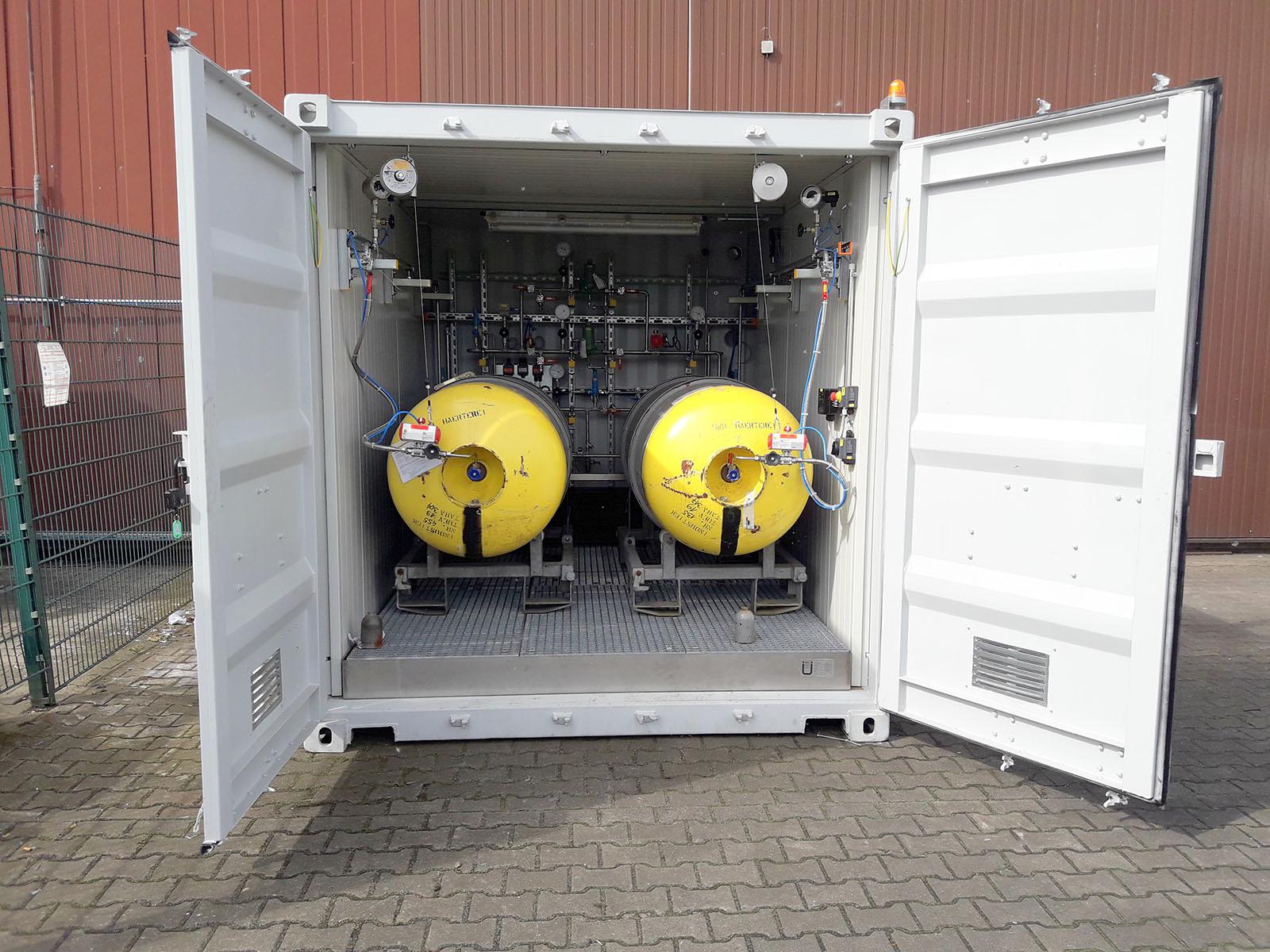 HKL Anlagentechnik 2 Fassanlage Seecontainer