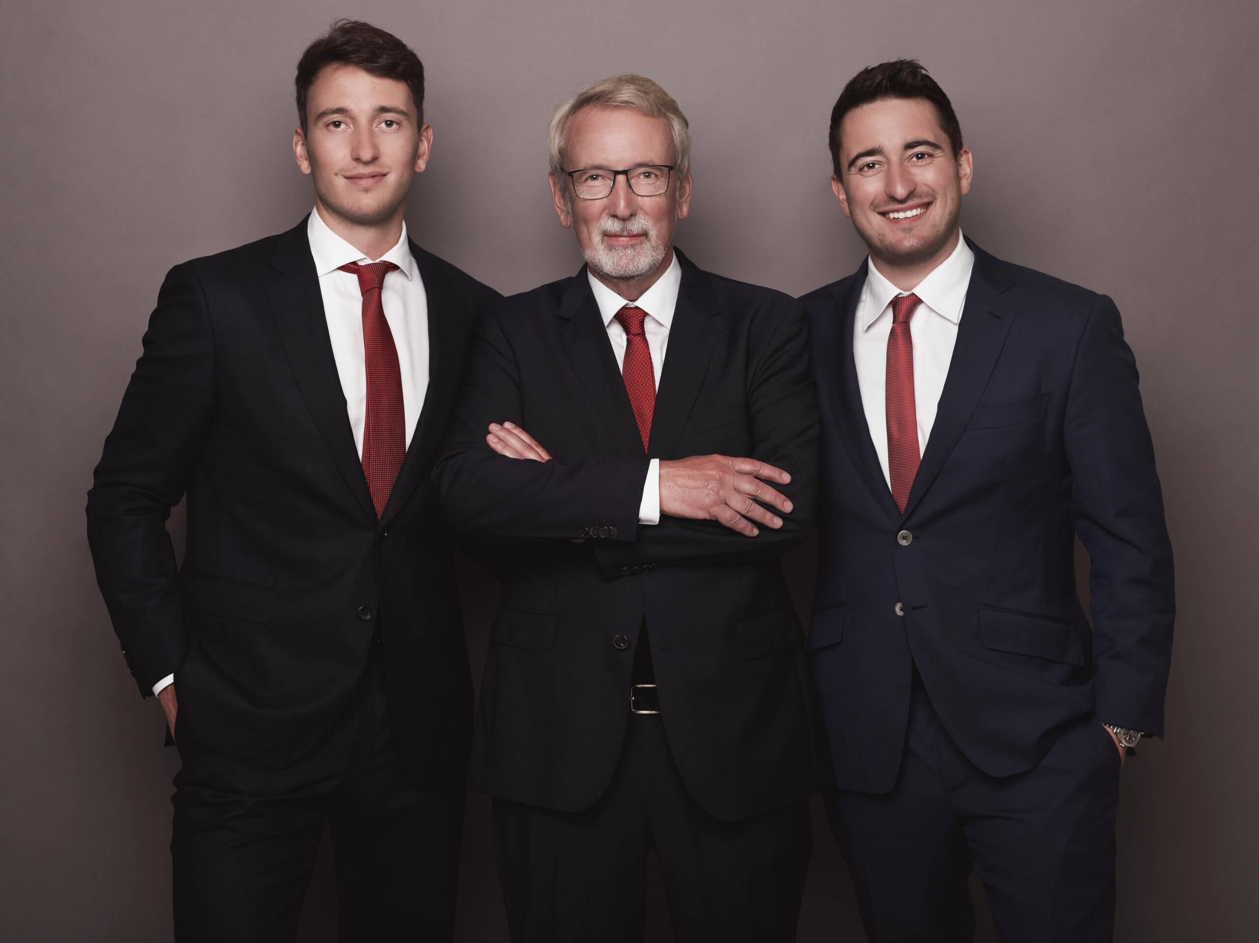Timo, Bernd and Daniel von der Heide
