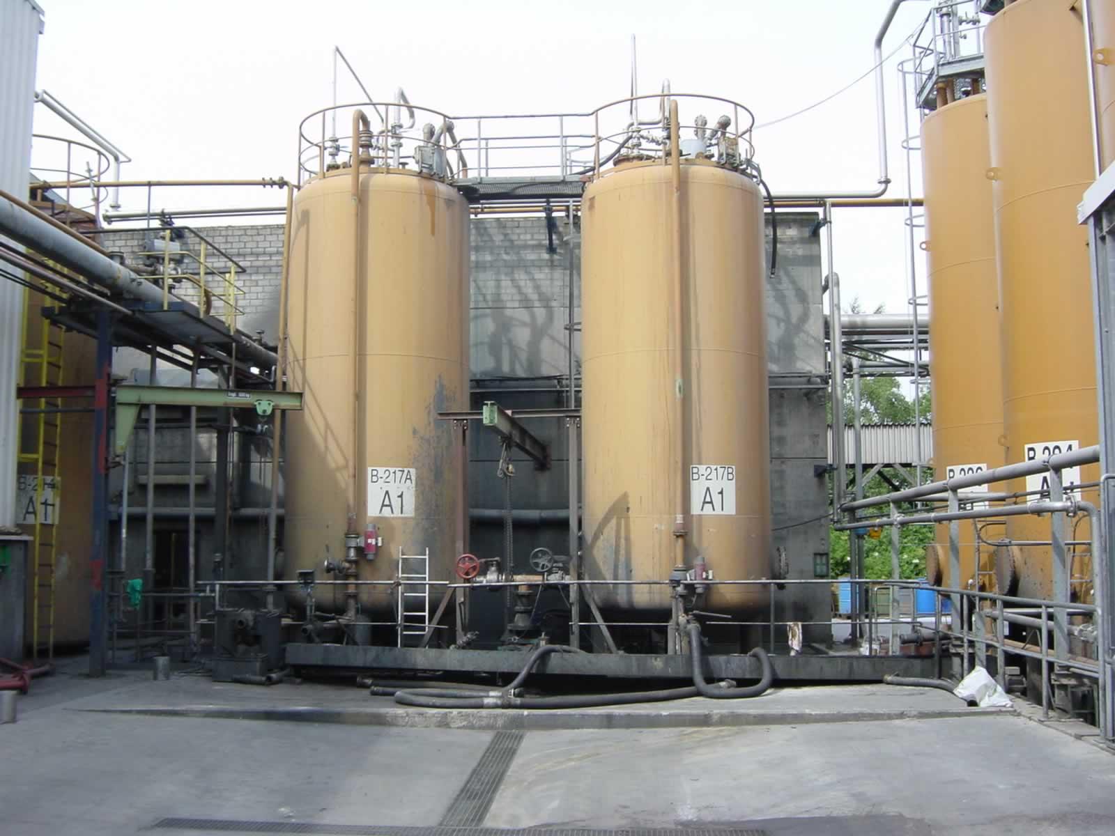 HKL Anlagentechnik Altoel Tanklager