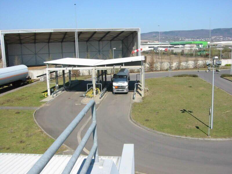 HKL Anlagentechnik Fluessiggas Tankwagenbefuellstation