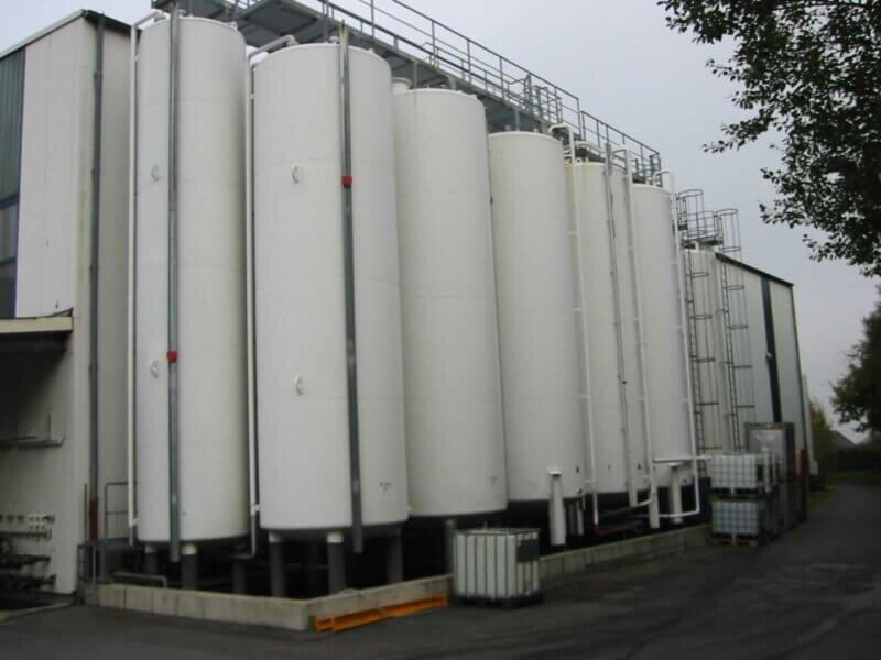 HKL Anlagentechnik Grundoel Tanklager