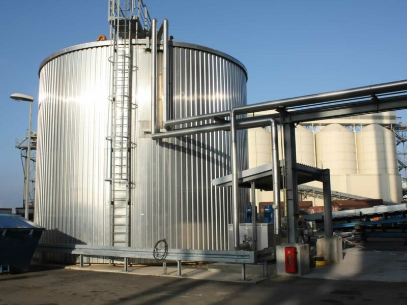 HKL Anlagentechnik Isolierter Heizoeltank