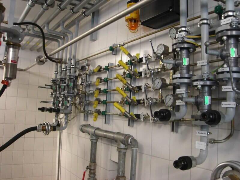 HKL Anlagentechnik Loesemittelabfuellung