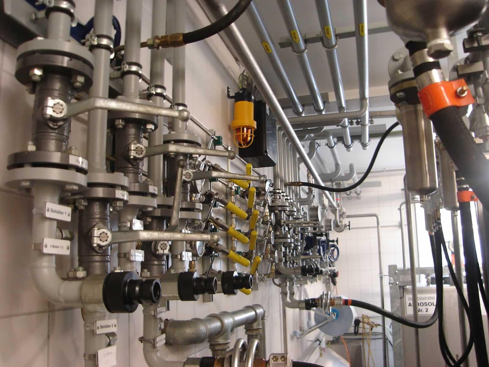 HKL Anlagentechnik Loesemittelverteiler