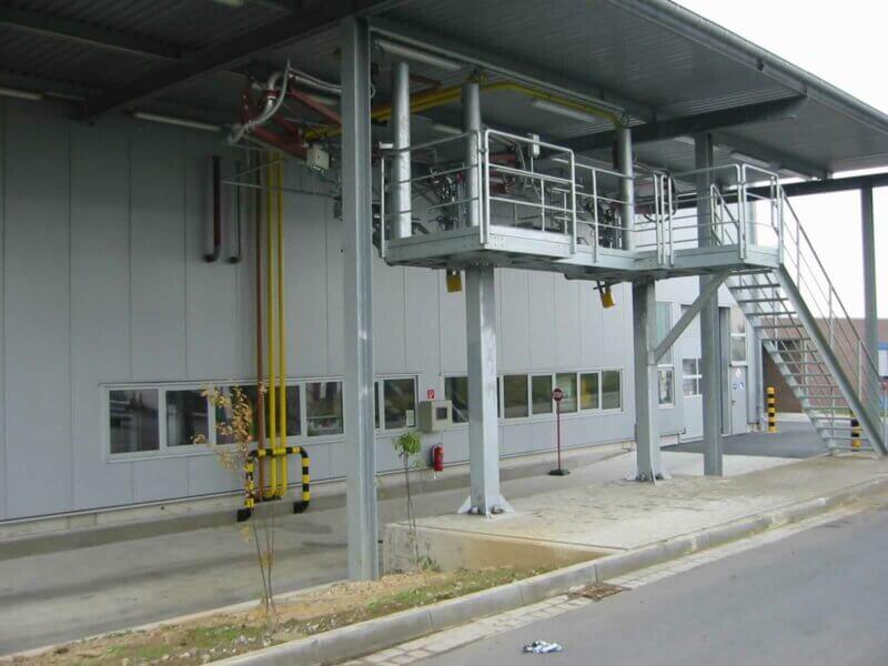 HKL Anlagentechnik Mineraloel TKW Befuellung