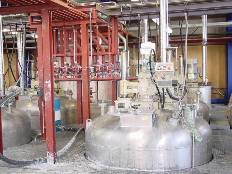 HKL Anlagentechnik Ruehrwerksbehaelter Mit Dosierstation