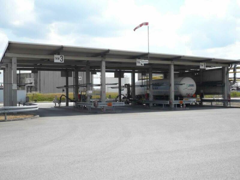HKL Anlagentechnik Tankwagenbefuellstation