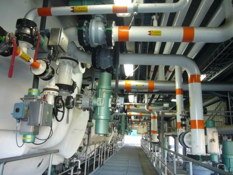 HKL Anlagentrechnik Fluuessiggasverteilerlager